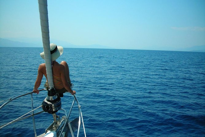Semi Private Day Sailing Cruise From Mykonos With Option Delos Island, Miconos, Grécia