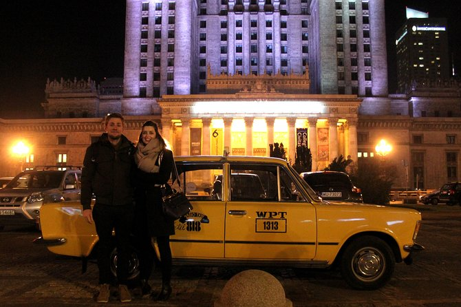 Warsaw Evening Private Tour by Retro Fiat, Varsovia, POLONIA