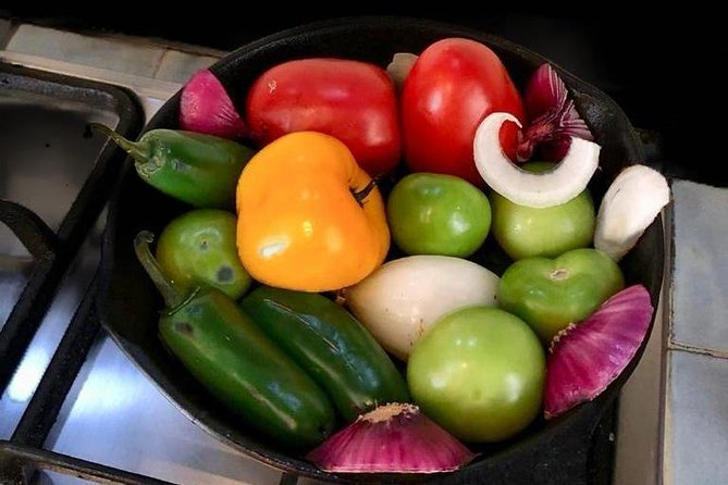 Private Mexican Food Cooking Class with Food Market Visit, Ciudad de Mexico, Mexico