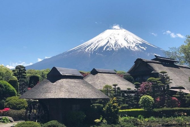 You can enjoy a guided sightseeing tour only with your family and friends.<br><br>This is a Mt.fuji private tour using comfy chartered taxi from Tokyo. Hotel pick up included.<br><br>The destinations of the tour includes Mt. Fuji 5th Station, Oshino Hakkai, Lake Kawaguchi, Arakurayama Sengen Park and Kubota Ichiku Museum.<br><br>Enjoy Mt.fuji with historical cultural explanations by professional guides.<br><br>The price for the displayed tour does not include the charter car fares.<br><br>The fares is 60000~ 70000yen on average. However, it changes with the parking lot and toll road to use on the day. Charter fares will be charged on the day of the tour.<br><br>For details of the tour, you can look at the what to expect section and inclusions excursions section of this web page.<br>
