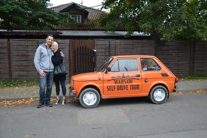 Recorrido con coche propio: Recorrido fuera de las zonas transitadas en Varsovia en Fiat