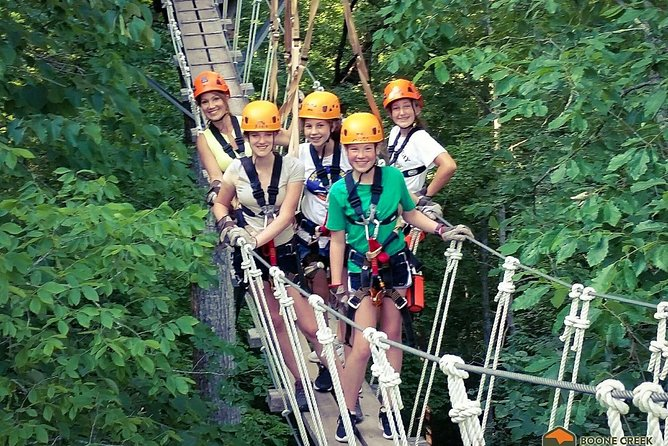 Our Canopy Tour offers a safe and exciting way to be outdoors and experience an otherwise unseen area of Central Kentucky. With deep limestone gorges, spring fed creeks and old growth trees. With the added bonus of a little speed to keep your adrenaline and your teenagers happy! Our certified guides will keep everyone safe and entertained while they tell tales of early settlers.