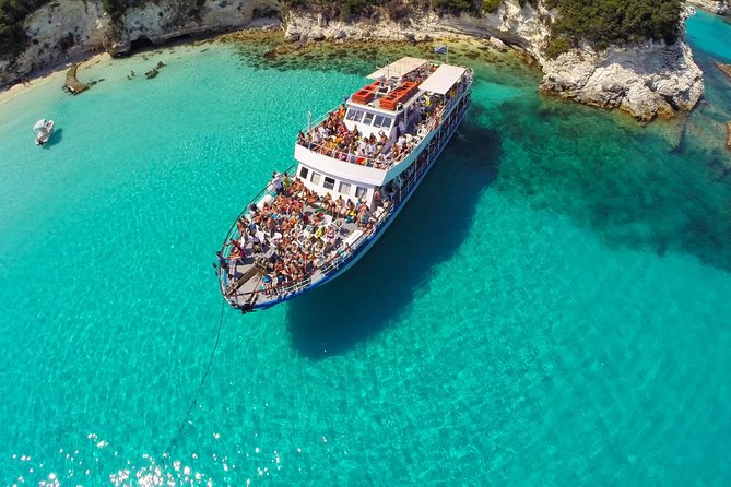 Paxoi, Antipaxoi and Blue Caves Cruise from Corfu, Corfu, GRECIA