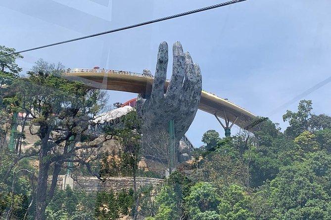 Marble Moutain - Golden Bridge - Ba Na Hill via Cable Car from Da Nang or Hoi an, ,