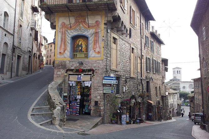 Assisi and Perugia with Lunch&WineTasting Fullday from Rome, Perugia, ITALIA