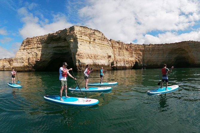Padel surf Cuevas de Benagil, Portimao, PORTUGAL