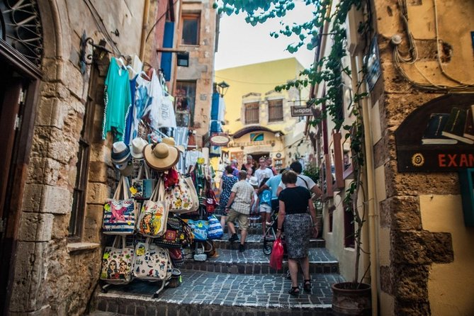Street Stories of Chania Morning Tour with Raki and Mezedes, ,