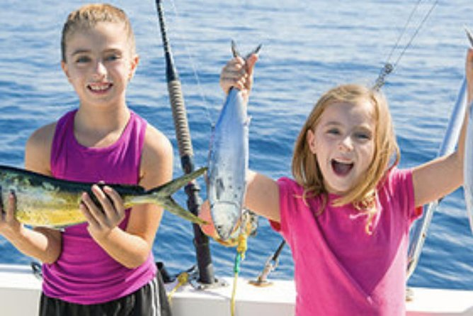 Gulf Island Charters offers a Family/Kids Inshore Fishing trip. Let Gulf Island Charters make you vacation memorable!..This trip is catch & release only!<br>