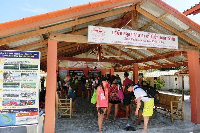 Koh Lipe to Koh Kradan by Satun Pakbara Speed Boat, Ko Lipe, TAILANDIA