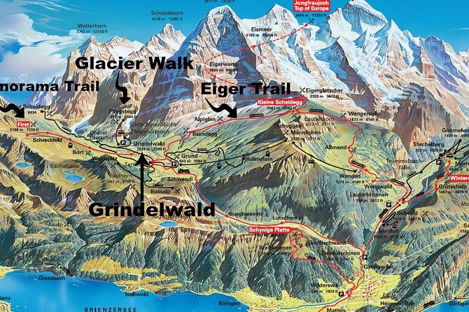 Grindelwald Guided Day Hike, Grindelwald, Suíça