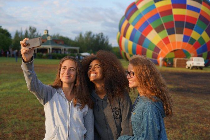 Safari en globo al amanecer, con desayuno, desde Magaliesburg, Johannesburgo, SUDAFRICA