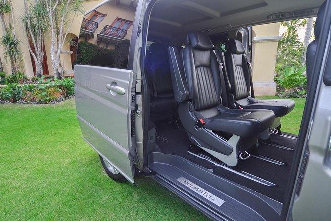 Traslado compartido estándar de ida o de ida y vuelta al aeropuerto de Cancún o al hotel, Cancún, MEXICO