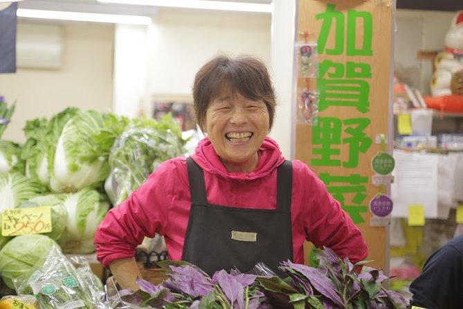 Omicho Market Tour & Cooking Class, Kanazawa, JAPAN