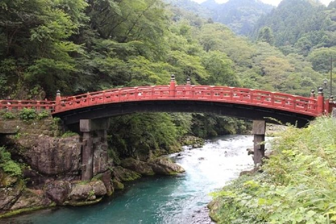 The beauty of Nikko as tourist destination is that you can experience the beauty of World-heritage architecture and breathtaking Nikko landscapes in one-day trip from Tokyo.<br><br>This tour is designed to cover the beauty of both by visiting the following spots: <br><br>Shinkyo Bridge,Toshogu Shrine,Akechidaira Plateau and Kegon Waterfall<br><br>A suggested itinerary is as follows;<br><br>7:30a.m. Meet at the guest's hotel. The party heads for Nikko by subway and train.<br><br>10:14-21 Arrive at JR Nikko St. or Tobu Nikko St. <br><br>Within Nikko area, we move by bus and visit the following spots.<br>-Shinkyo Bridge <br>-Toshogu Shrine<br><br>12:25-13:10 Lunch <br><br>13:17 Move to scenic area by bus and visit the following spots.<br>-Akechidaira Plateau:<br>-Kegon Waterfall: <br><br>15:30 Bus ride at Lake Chuzenjiko for JR Nikko St. or Tobu Nikko St.<br><br>18:15-30 Arriving at Tokyo St. or Asakusa St.
