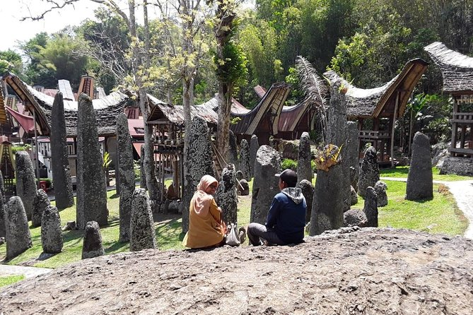 The tour fee is for 4 participants max. If there are less than 4 people, as long as they are willing to pay the fee, the tour will go on.<br><br>Many tours focus on beautiful landscape of Toraja. 'Discussion about Toraja' emphasizes on culture and tradition. Participants of the tour would be immersed in discussion about stone burial, funeral rites, motifs, and Aluk Todolo, a belief system that was once embraced by majority of Toraja. Besides exploring Toraja, participants will visit a pre-historic cave Leang Leang and the largest karst formation in Indonesia, Rammang Rammang in Maros.<br><br>We understand that many of our tour-participants are backpacker. Our tour fee doesn't include accommodation in Toraja so participants can choose lodging based on their budget (you can check site like AirBnB, HomeAway, etc). However, if you would like, we can help to book your lodging. Please inform us your budget and we will get back to you with candidates of lodging.