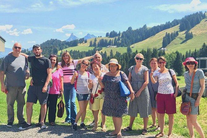 Viagem de um dia para Gruyères, incluindo o Golden Panoramic Express Train, Ginebra, Suíça