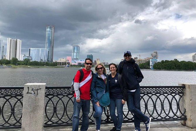 This walking tour takes 2 hours and gives an insight into the major places of interest in Yekaterinburg city center. <br>- Walk along the Iset River promenade to see the old mansions and the modern skyscrapers.<br>- See the main attractions starting from the City Dam with lots of unique and amusing objects. <br>- Visit the Church on the Blood, securing tragical and mysterious story of the last Russian Emperor Nicholas Romanov and his family. <br>- Walk along the Literature District - a good demonstration of the old Russian-style houses and the way people lived in Yekaterinburg 200 years ago.