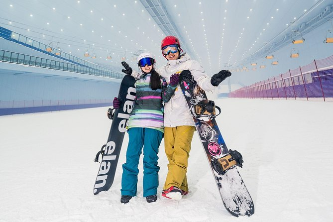 Today you will enjoy your indoor snow skiing experence in Harbin, and visit indoor ice and snow world.<br><br>Children also can skiing, children must tall like 90cm.<br><br>Million square meters of global large indoor snow Entertainment Park, has 6 different slope snow, vertical drop of 80 meters, accommodate 3000 people skiing, set up 15000 Park Ski indoor ultra drama snow region style design to the Nordic Town, construction area of 80 thousand square meters, is currently the world's largest indoor ski resort. With 6 different slopes of snow road, vertical drop of 80 meters, can accommodate 3000 people skiing, suitable for different levels of skiing enthusiasts to sway freely. Equipped with 15000 flat super drama snow area meticulously for you throughout the snow joy place to visit relatives and friends and family, for the seasons of playing.