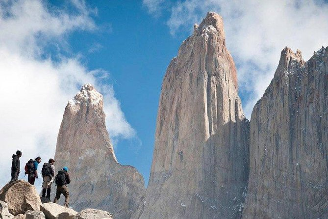 During this 5-day tour, we will enjoy one of the most impressive treks in South America and experience the majestic landscapes of the Chilean Patagonia. The 5-day W Trek is a self-guided trail, which is very easy to follow. You will stay in different areas along the famous W route. The tour includes everything you need to enjoy this experience (transfers, accommodation, food, tickets..). You just have to decide if you want to stay in a campsite or a refugio (recommended). The most important areas you will visit during this tour are Base Torres, Los Cuernos, Valle Francés and the Glaciar Grey Viewpoint. In these beautiful places, you will enjoy colossal mountains, deep blue glaciers and forests that are so stunning, they seem to be from a fairytale.<br>