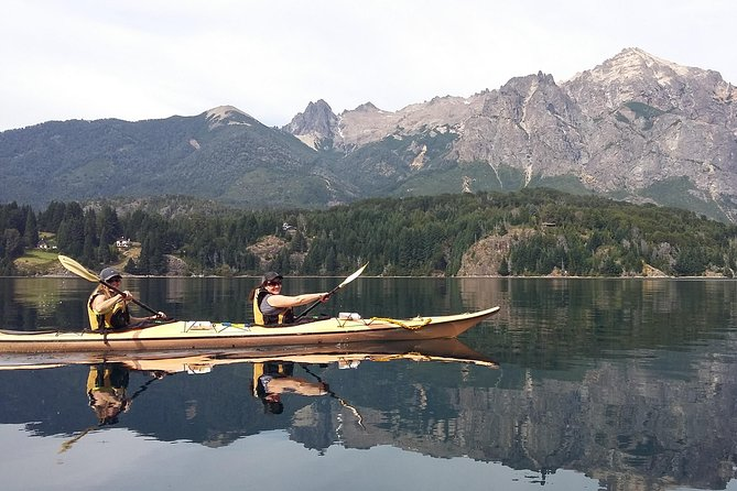 Kayak paddling adventure around Bariloche, Bariloche, ARGENTINA
