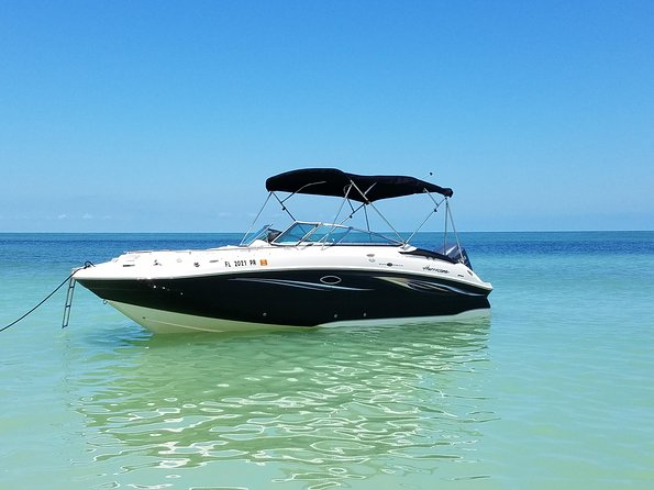Private Boat Tour on Hurricane Deck Boat of Clearwater Beach, Clearwater, FL, ESTADOS UNIDOS