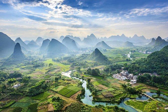 One-Day Li River Cruise with Biking Tour in Yangshuo, Guilin, CHINA
