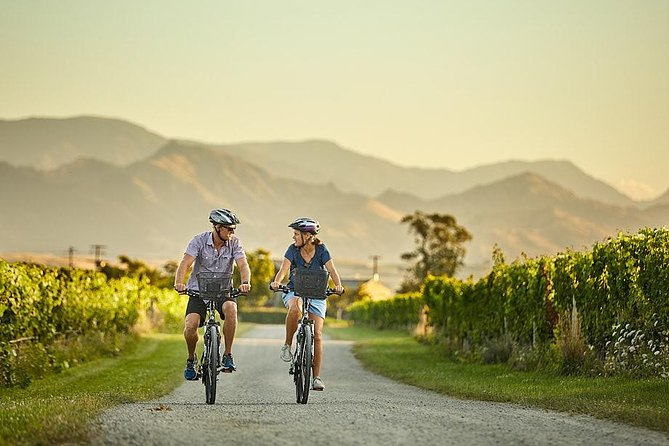 The deluxe guided biking wine tour of the Marlborough wine region is private touring at its best. You will be picked up from your Blenheim or Renwick accommodation in the morning and taken to our home base in the heart of the Marlborough wine region where you will meet your guide for the day. They will set you up with bikes and helmets and talk you through the plan for the day.<br><br>As this is a private tour the day plan can be flexible to accommodate your wine tastes, riding pace or photo stop requirements. You will visit 5-6 wineries on the tour, stopping at one of them for lunch. (Lunch is at your own cost). At one of the wineries, we will have either a winery tour, private tasting, blind tasting or food and wine match. This is the ultimate way to experience the Marlborough wine region. Experience stunning scenery, world class wines, friendly wineries, delicious food and relaxing biking.
