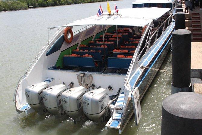 Koh Lipe to Hat Yai Airport by Satun Pakbara Speed Boat and Shared Minivan, Ko Lipe, TAILANDIA