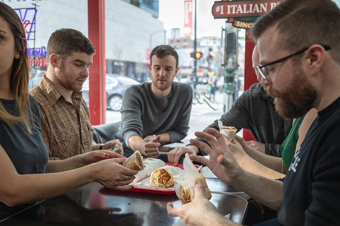 Experience the best travel stories for yourself! Join a local expert and uncover hidden gems on this Lonely Planet Experience powered by Urban Adventures.<br>Join us for the ultimate foodie adventure in Chicago's historic River North area alongside a local guide who can show you the best spots for some of the city's best loved dishes. From deep dish pizza to Chicago-style hot dogs, this tour will leave you filled with delicious local foods as well as some insider knowledge into the city's culinary history and culture.