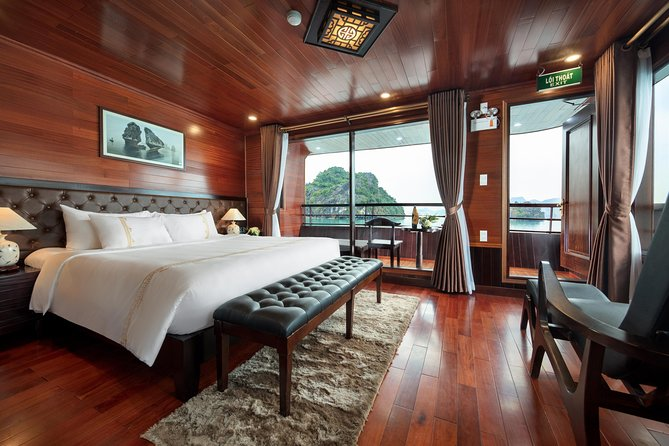 MORE PHOTOS, Overnight Halong Bay-Lan Ha Bay Cruise with Hanoi Pickup and Drop-off