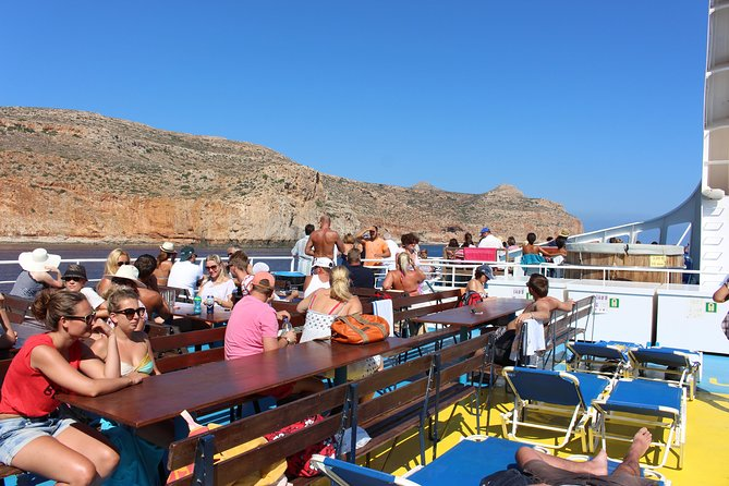 Full-Day Guided Tour to Gramvousa Island with Hotel Pickup, ,