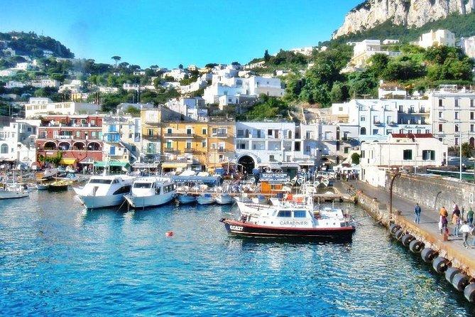 Capri Island and Blue Grotto from Sorrento or Positano or Amalfi or Salerno, Salerno, ITALIA