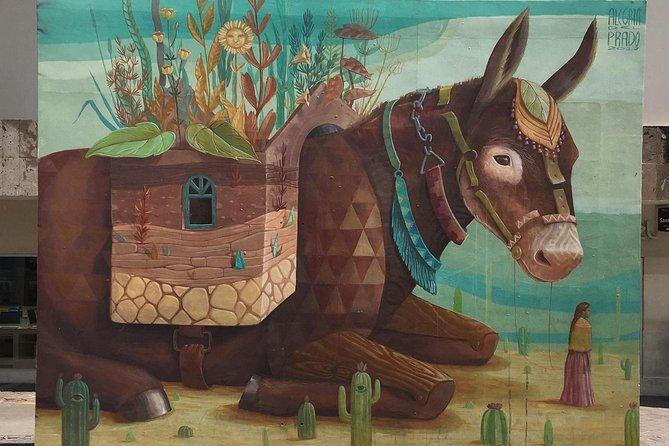 Recorrido de arte callejero por Guadalajara, Guadalajara, MEXICO