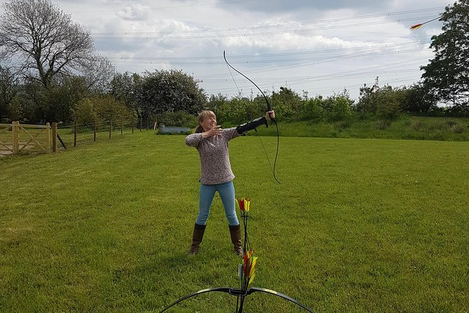 We are the only venue in Wales currently offering Aerial Archery. Aerial Archery is like clay pigeon shooting with a bow and arrow. It's very different to traditional Archery.