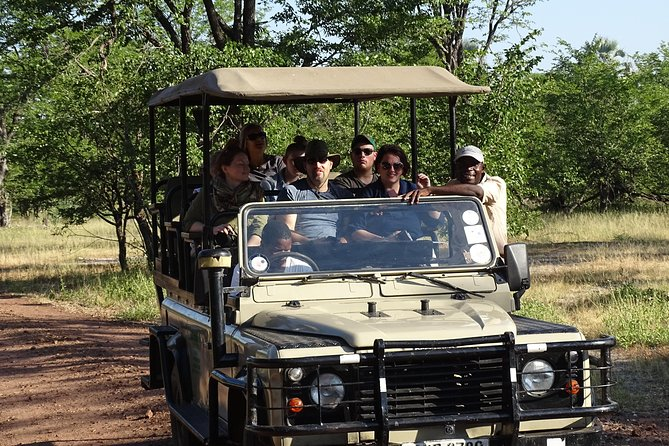 A fascinating three hour Game Drive in Livingstone Park to see such animals not always seen in Chobe like Zebras, Wildebeest etc , then a picnic with light snacks and drinks in a picturesque area by the Zambezi River before a safe short Walking Safari to see the rare White Rhinos up close and personal . All our tours are private and personalised to a single booking.