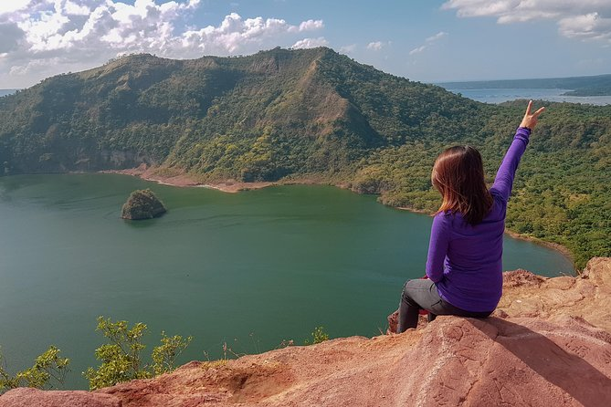 Nestled on an island within a lake near Manila in the Philippines, is an incredible geological wonder called Taal Volcano. Is the world's smallest volcano. Taal Volcano is located along the Pacific Ring of Fire and is the Philippines's second most active volcano.