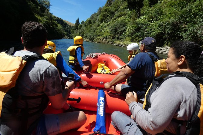 We are unique in that we offer this beautiful trip into our back yard with history from guides with over 30 years experience on the river and stories from maori elders going back 33 generations (or so).<br><br>All trips get clients back onto the cruiseships well before departure.