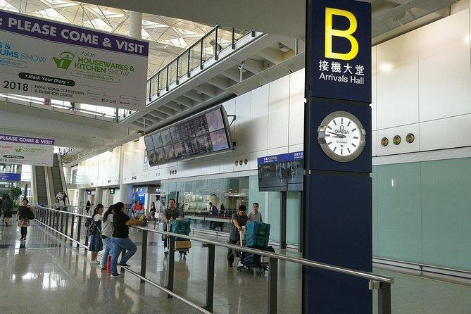 Traslado compartido a la llegada a Hong Kong: del aeropuerto de al hotel, Hong Kong, CHINA