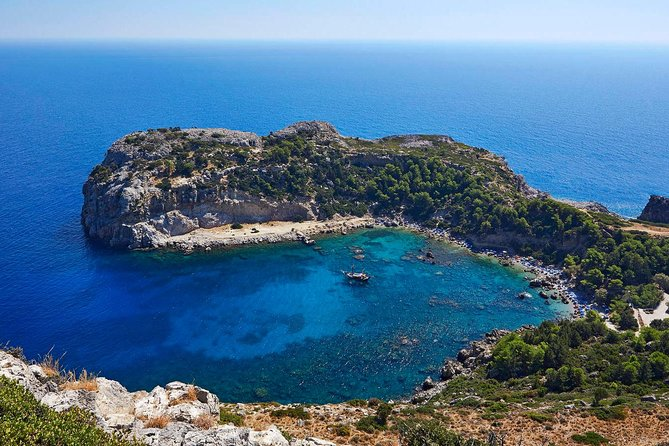 MOST BEAUTIFUL BAYS OF RHODES BY A SAILING YACHT with Half Price Tours, Rhodes, Greece