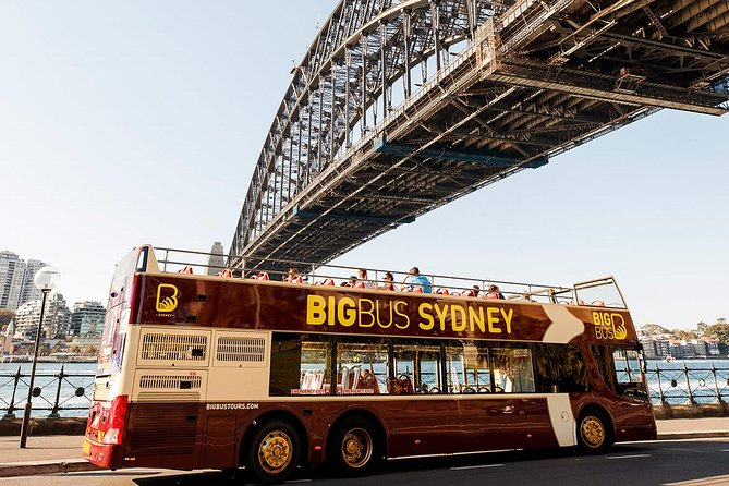 Explore Sydney and Bondi Beach on this hop-on hop-off sightseeing tour, which takes you by double-decker bus to 34 stops around the city including Sydney Opera House, Sydney Harbour Bridge, Darling Harbour, Bondi Beach and more. Enjoy unobstructed views and recorded commentary on board. Simply hop off to walk around and sightsee in depth. Your ticket is valid for 24 or 48 hours, so you can experience Sydney and Bondi's most noteworthy attractions, sights, and shopping and dining areas at your own pace.