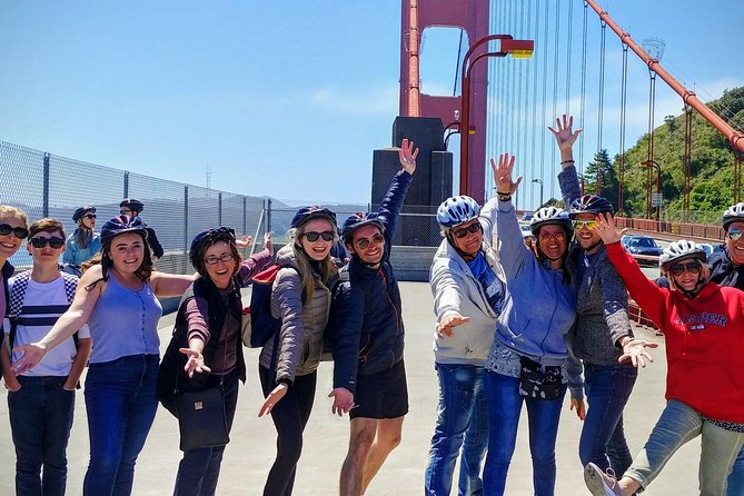 Alcatraz and Golden Gate Bridge to Sausalito Guided Bike Tour, San Francisco, CA, ESTADOS UNIDOS