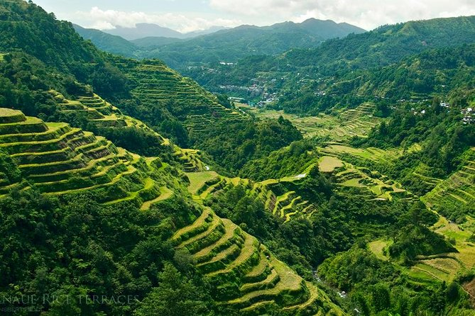 """The Banaue Rice Terraces are 2000-year old terraces that were carved into the mountains of the Cordilleras by the Ifugaos. The Rice Terraces are commonly referred to as the """"Eighth Wonder of the World"""", and a Unesco World Heritage Site. The terraces, built by hand are located approximately 1500 meters (5000 ft) above sea level and cover 10,360 square kilometers (about 4000 square miles) of mountainside. Our Private Tour is limited to a maximum 6 persons Only.<br><br>Our Company started bringing travellers up north for more than a decade and we specialised this route. our advocacy is to support the community by engaging our clients with the local people in the mountain region, by this your visit is more memorable and enjoyable."""