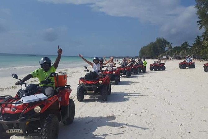 Tour in Quad in zanzibar is the best way to approach this fantastic and wild way off road. Half day driving on a path made of secondary roads. Agriculture and land paths, easy to pass, passing next to multiple rice paddies, cane plantations from zuchero, fruit plants, bananas, coconuts, mangoes.. In this way enviroment meets you with a wonderful nature that in every season gives us spectacular landscapes rich in colour, but Quad zanzibar tour does not stop there. We will also rest in the areas where you will meet and understand the life of the local people, all with a true mystery that has always surrounded the island.