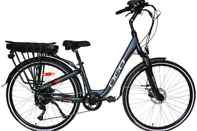 Full-Day Electric Bike Rental in Québec City, Quebec, CANADA