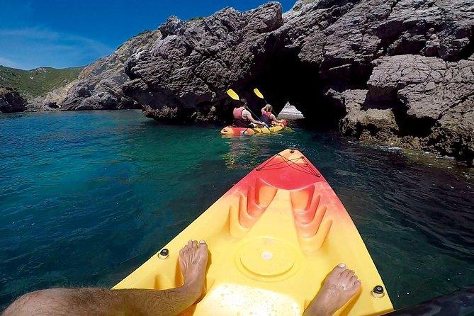 Kayak Tour along Sesimbra - Arrábida Natural Park, Distrito de Setúbal, PORTUGAL