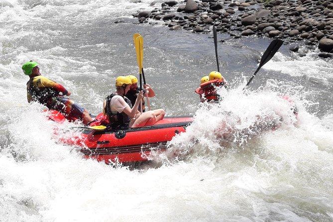 MÁS FOTOS, El rafting en el río Sarapiquí de clase III - IV