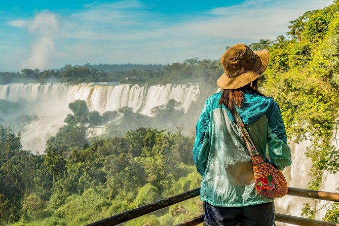 Tour Iguazu Falls in style! Walk along with Iguazu's impressive collection of waterfalls and feel the mist from the stunning 'Devil's Throat' on this 3-day tour from Puerto Iguazu. Skip the hassle of dealing with logistics while we take care of your airport round-trip transportation.<br><br>Surrounded by tropical jungle and home to incredible biodiversity, get on an Eco-train and discover why Iguazu Falls are one of the true natural wonders of the world. Without a doubt, this tour allows you to make the most of your time Iguazu Falls from both the Argentine and Brazilian sides. With accommodation and tours included, All you need to bring is your sense of adventure!