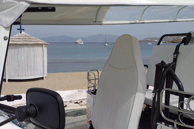 e-Tuk Mykonos Cosmopolitan Riviera VIP Tour, Miconos, Grécia