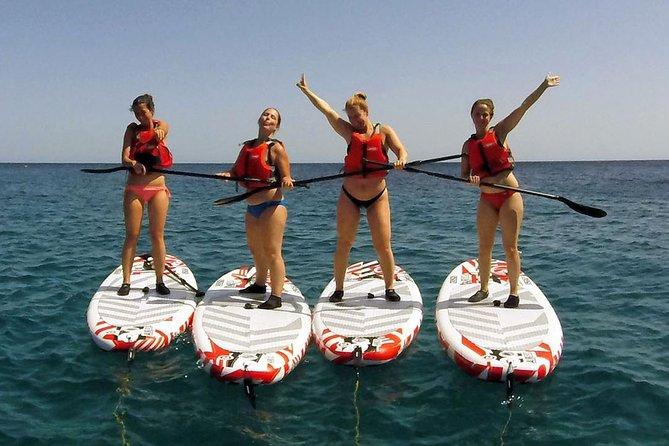 A fun filled SUP adventure is for everyone with no previous experience needed.<br><br>Freedom exploring around the fantastic spots of Gozo and Comino, reaching a secrets gullies and caves with the experience of our guides and the possibility of a refreshing jump in the water at any time, or a quick stop in any of the spots that grabs your attention!