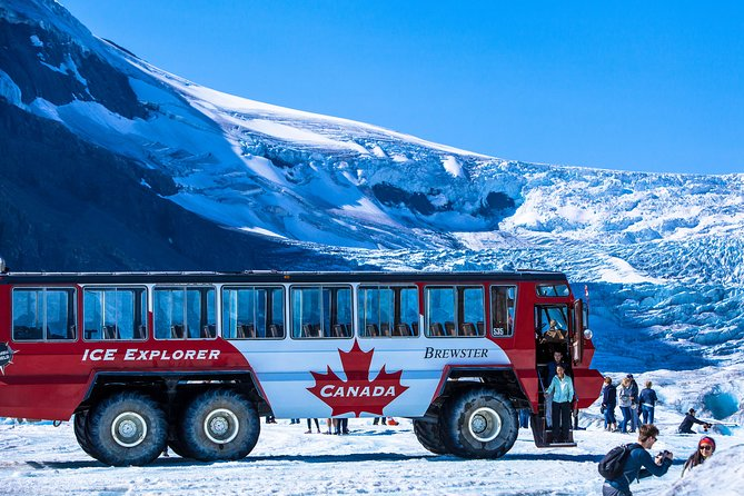 Columbia Icefield Tour including the Glacier Skywalk from Jasper, Jasper, CANADA